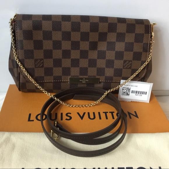 bccec9055061f Louis Vuitton Handbags - 2018 Brand New 100% Auth Louis Vuitton Favorite MM